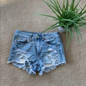 American Eagle jean shorts!
